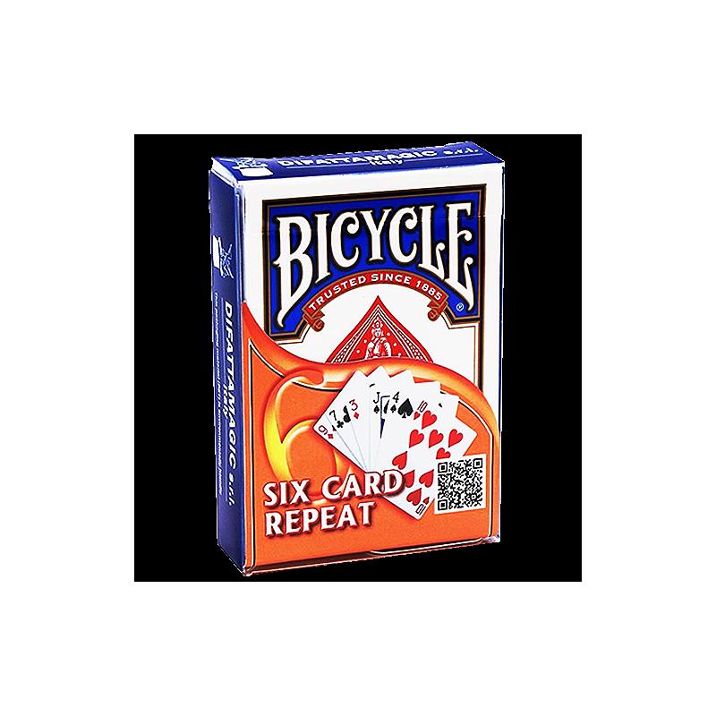 6 Cartes Toujours 6 Cartes  Bicycle Bleu