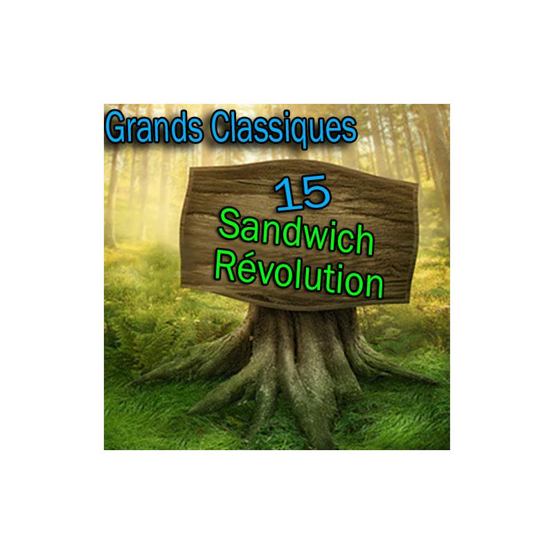 N°15 Grand Classique - Sandwich Révolution - Téléchargement