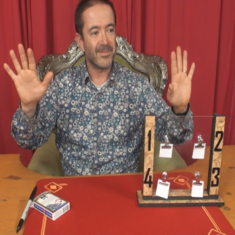 4 Prédictions Visuels - Le petit magicien