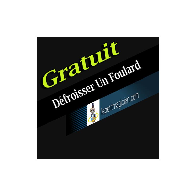 03 - Astuce gratuite - Défroisser Un Foulard Sans fer à Repasser.
