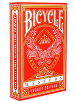Bicycle Master Legacy Red Edition