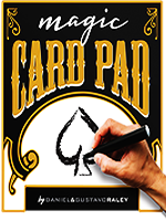 Card Pad Red - Gustavo Raley