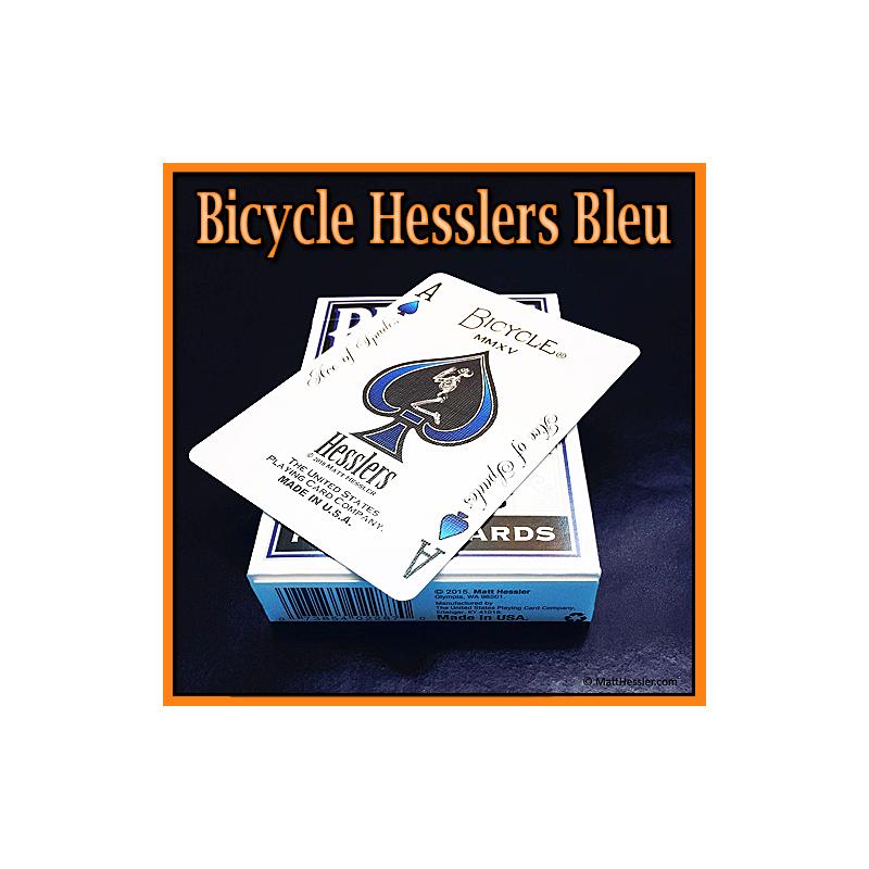 Hesslers Rider Back Bleu