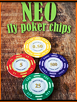 Neo Fly Poker Chips - Leo Smetsers