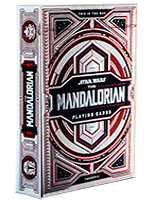 Star Wars Mandalorian Red Silver - Theory11