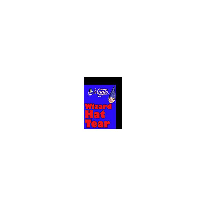 Papier en chapeau - Wizard hat tear