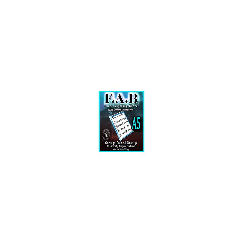 FAB BOARD A5 - Joel Dickinson & Andrew Dean