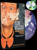 DVD Expert Cigarette Magic Made Easy - Vol.1 ( Tom Mullica )!!!