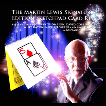 Art pad Card rise - Signature Edition Sketchpad ( Cardiographic) ( Martin Lewis )