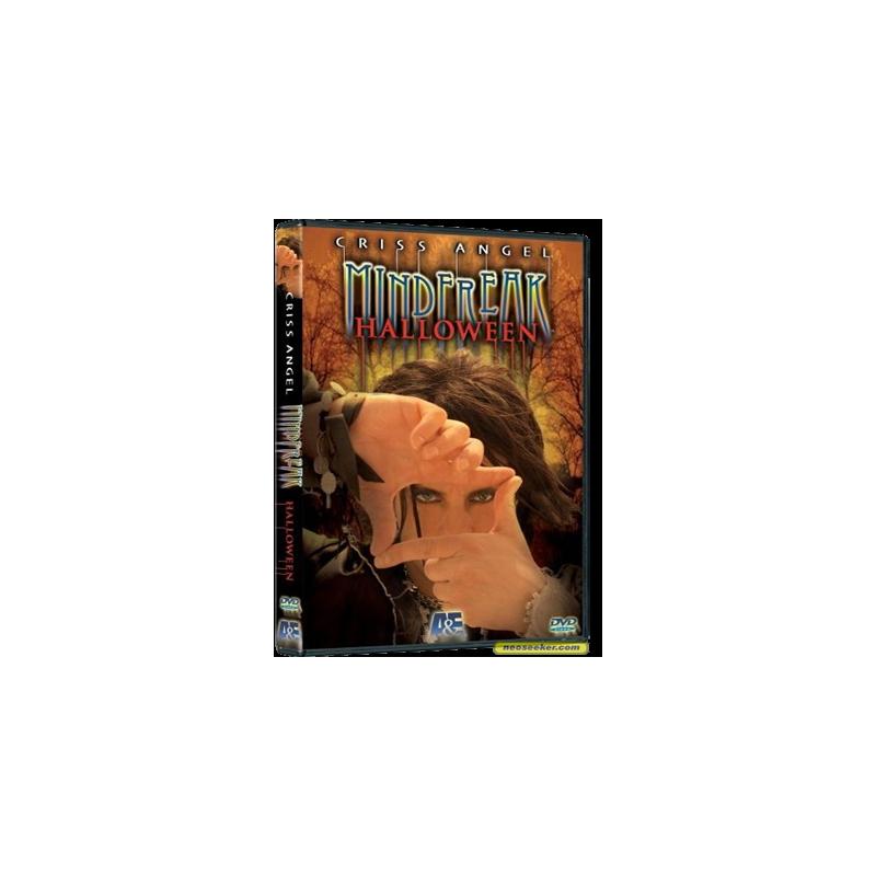 DVD Mindfreak halloween (Criss Angel )