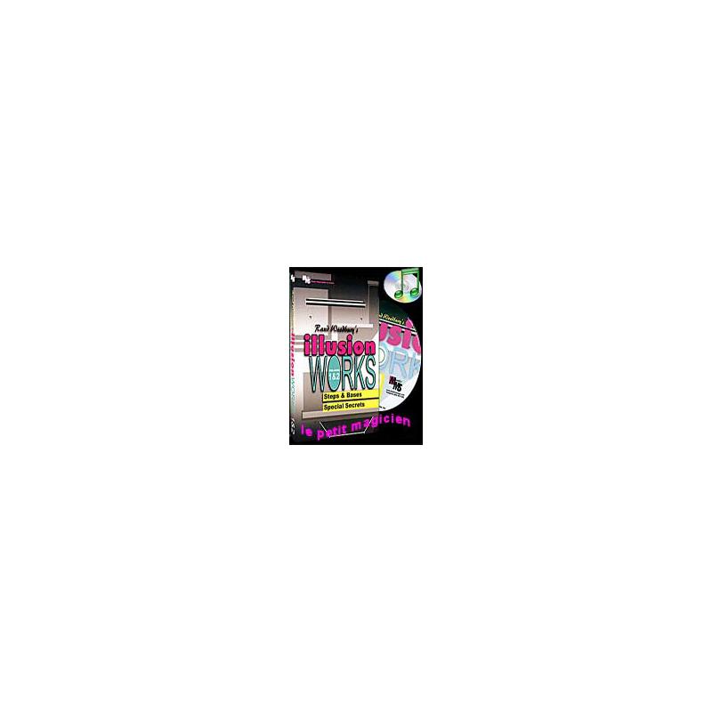 DVD Illusion Works Volumes 1 & 2 ( Rand Woodbury )!!!