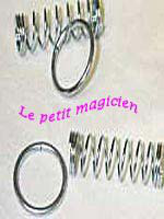 Casse tête  Coil ring ( sping puzzle )