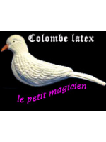 Colombe en Latex - Latex Dove