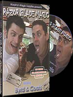 DVD Razor Blade Magic ( Byrd & Coats )
