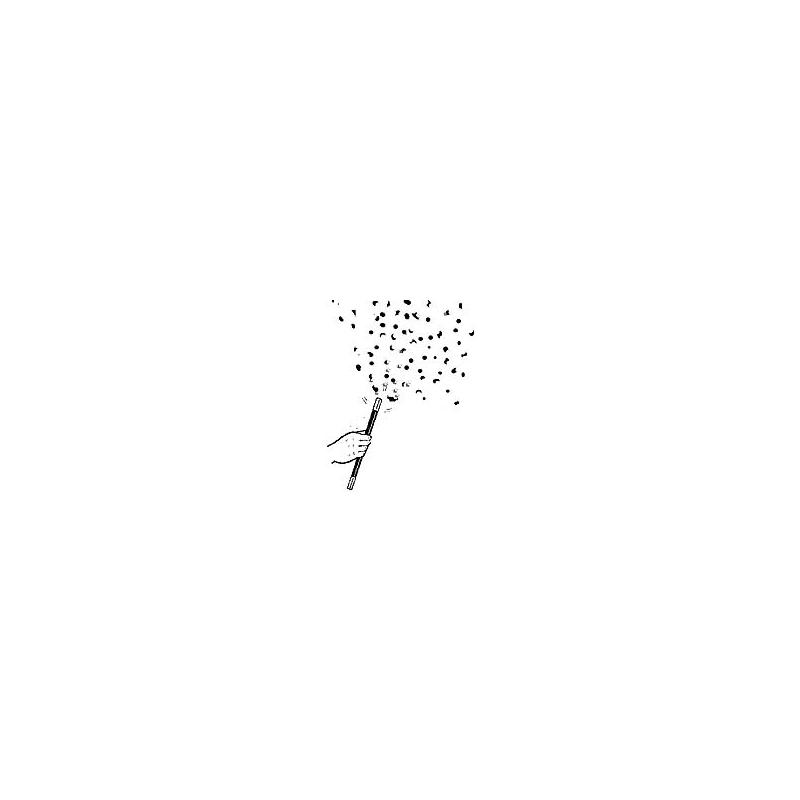 Baguette a confettis - Confetti Wand
