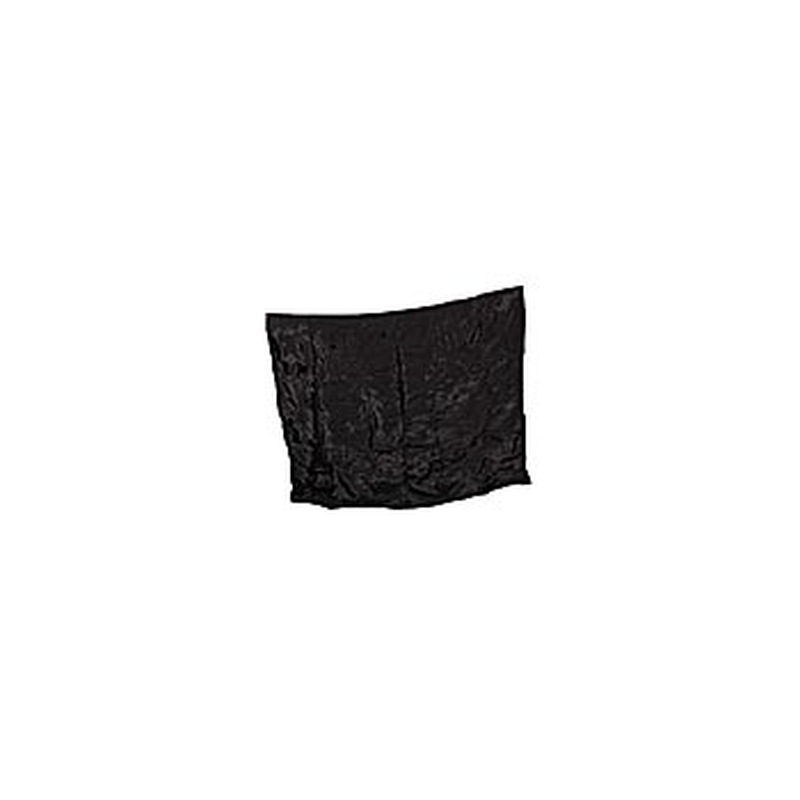 Foulard satin noir ( zombie ) 90 x 80 cm