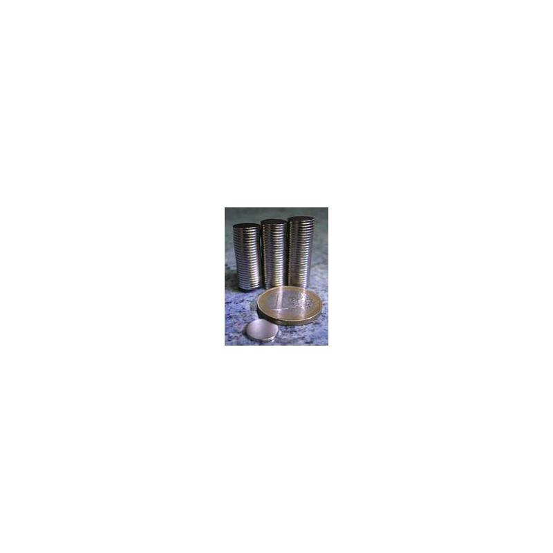 Aimant disque 10 x 01 neodyme