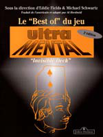 Livret best of ultra mental ( jeu invisible )