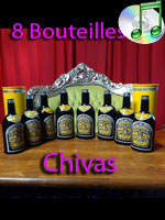 Multiplying Bottles - multiplication de bouteilles chivas