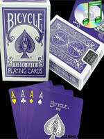 bicycle reverse Purple ( violet )