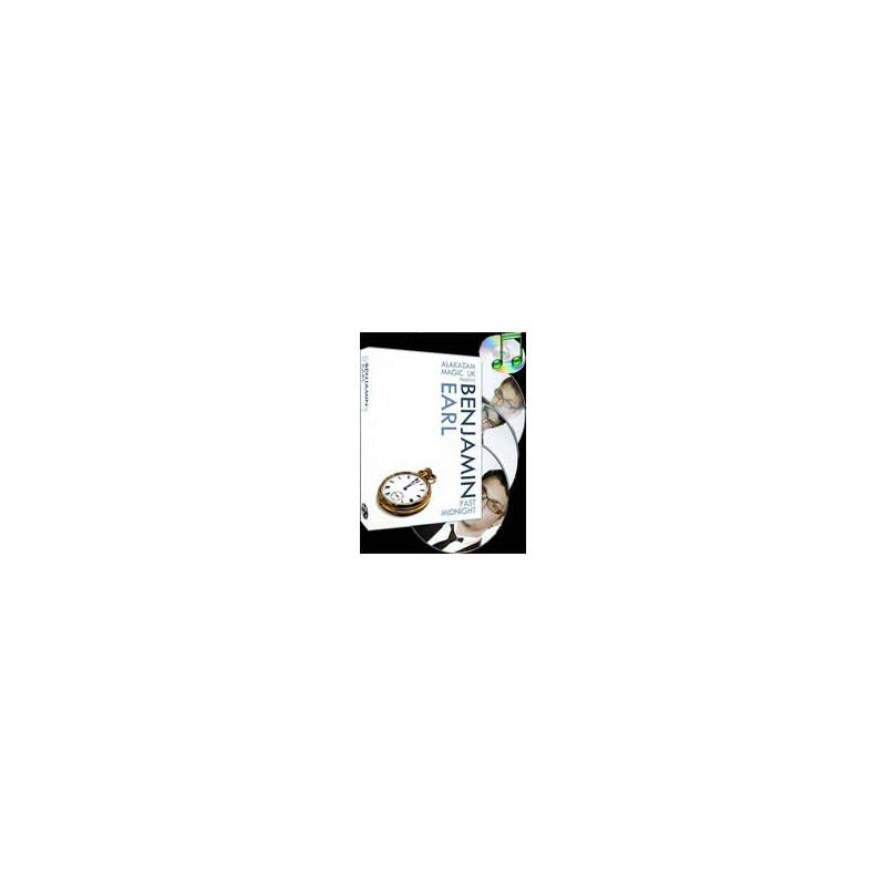 DVD Past Midnight (3 DVD ) ( Benjamin Earl and Alakazam )