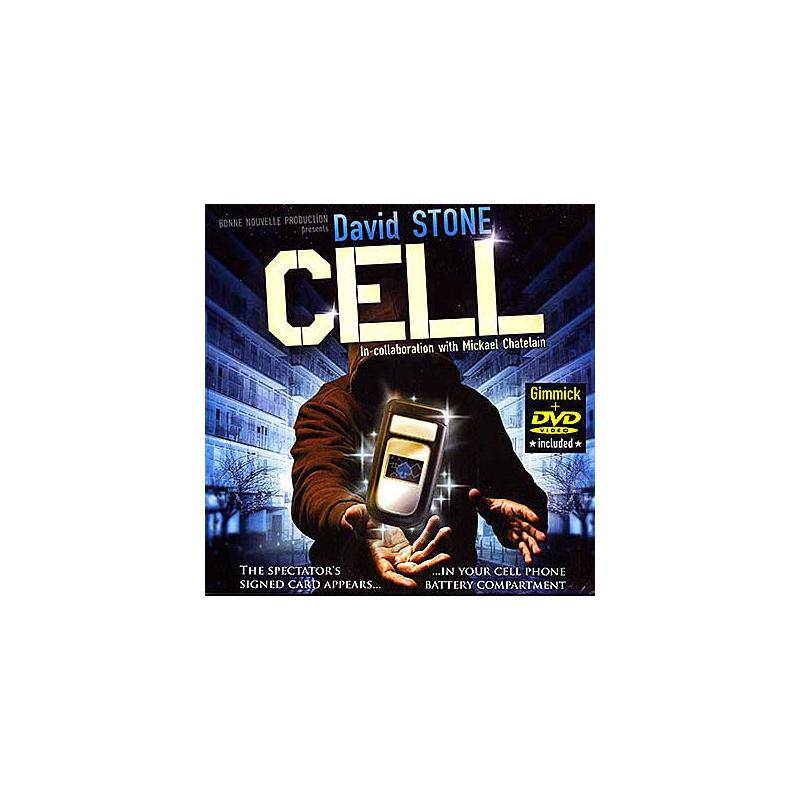Cell David Stone avec DVD