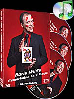 DVD Remarkable Card Magic (3 DVD Set) ( Boris Wild )!!!