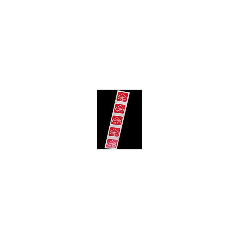 Etiquette rouge pour étui - Deck Seal