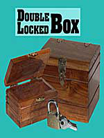 Lock box big Double boite