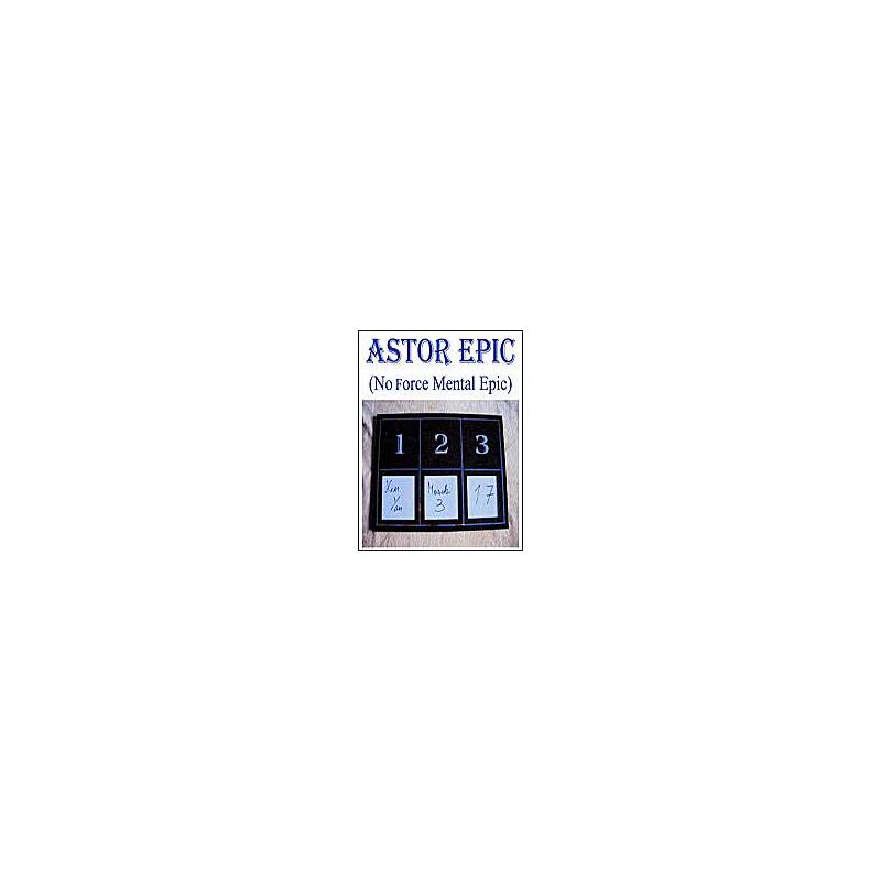 Ardoise à prédiction - Mental epic Astor