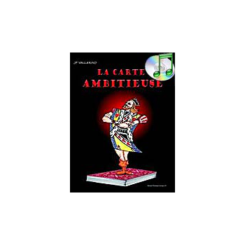 DVD Carte Ambitieuse (vallarino)