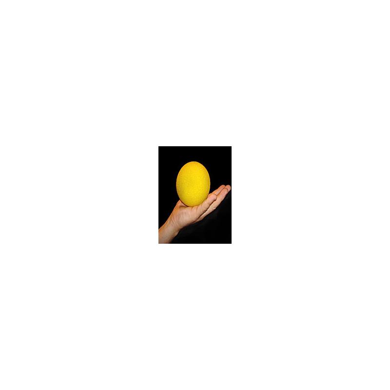 """Goshman 1 balle mousse jaune super soft 4""""."""