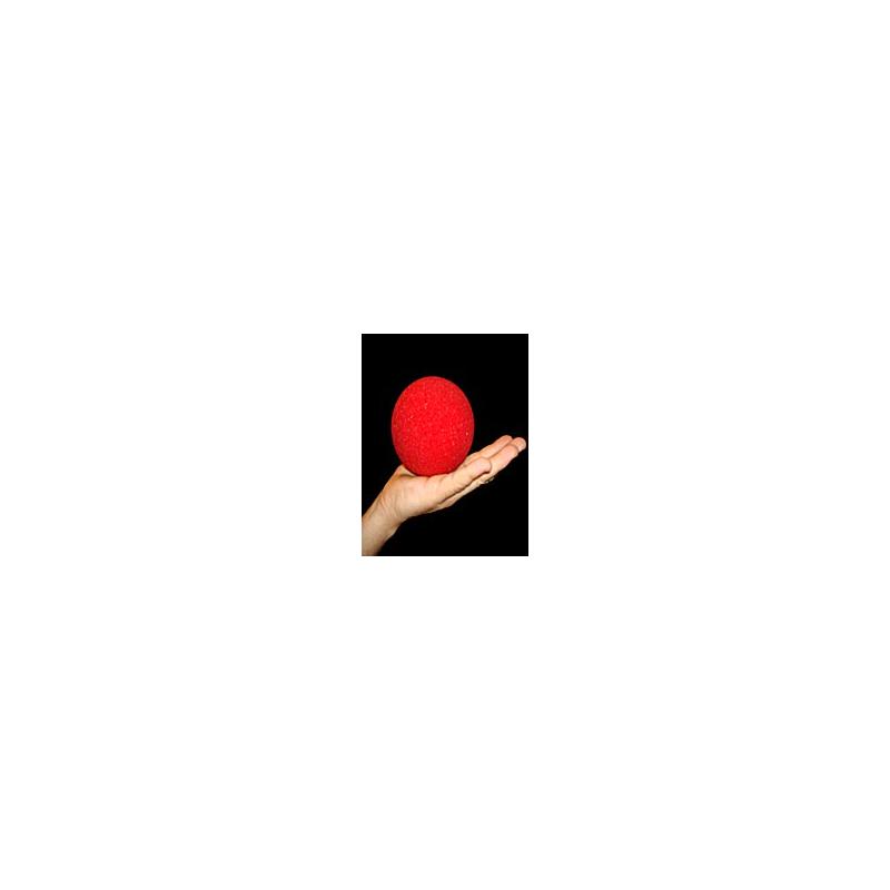 """Goshman 1 balle mousse Rouge super soft 4""""."""