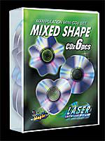 Set Mini Cds Spéciaux - Mixed Shape