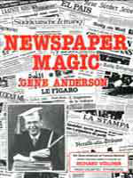 Livre Newspaper Magic de Gene Anderson