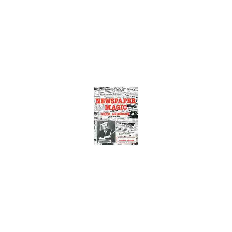 Livre Newspaper Magic de Gene Anderson