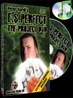 DVD E.S.Perfect - The Project (Peter Nardi alakazam )!!!