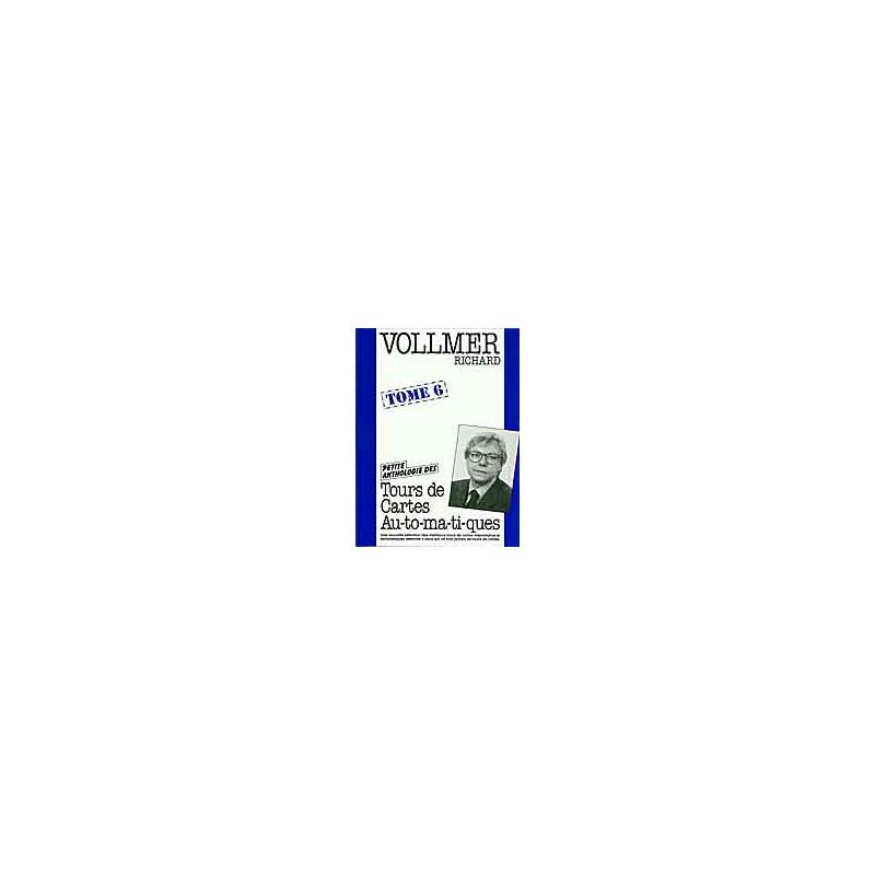 Livre Tours de Cartes Automatiques 6 ( Vollmer )