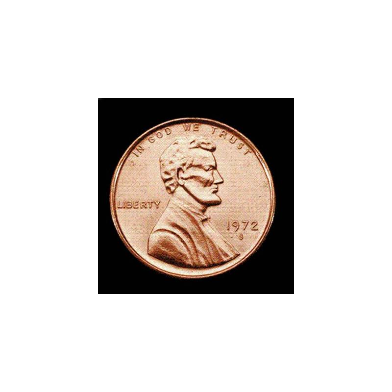 Pièce Jumbo Penny one cent  7,5 cm