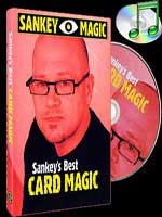 DVD Sankey's Best CARD MAGIC