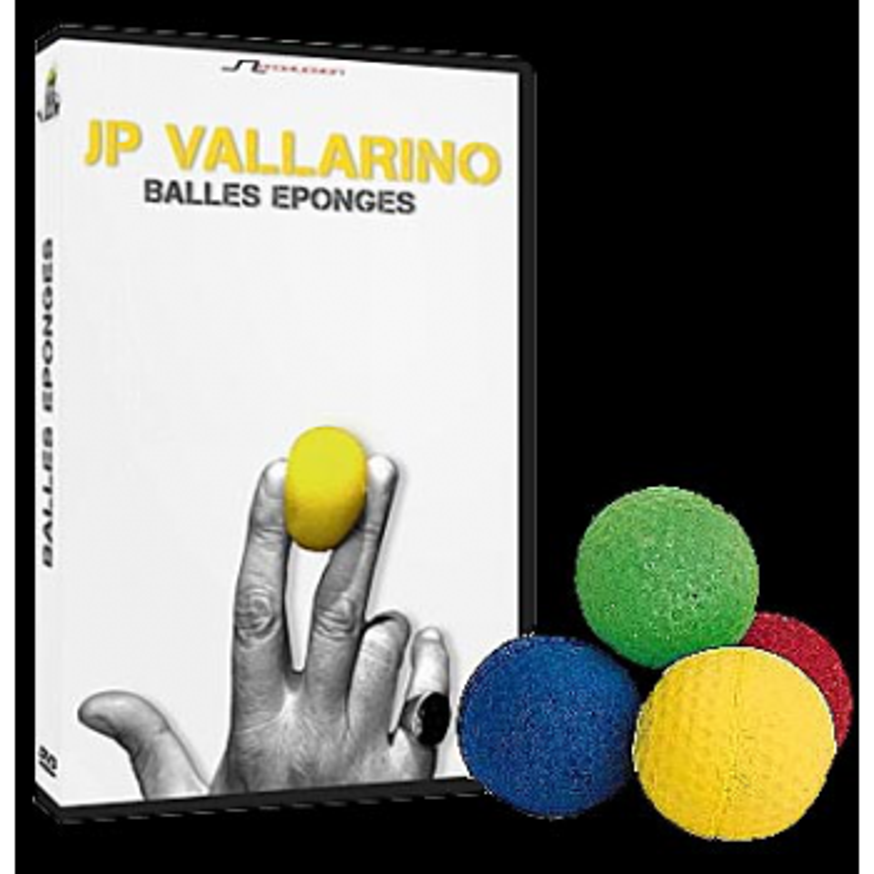 DVD Balles éponges (J-P Vallarino)