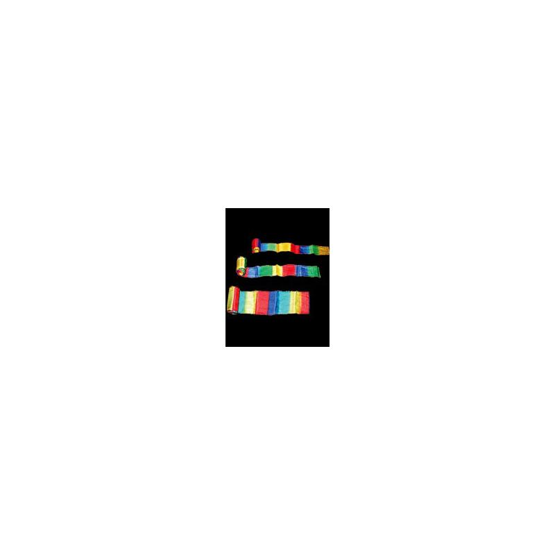 """Streamer multicolor 20 m x 20 cm ( 9""""x 20m)"""