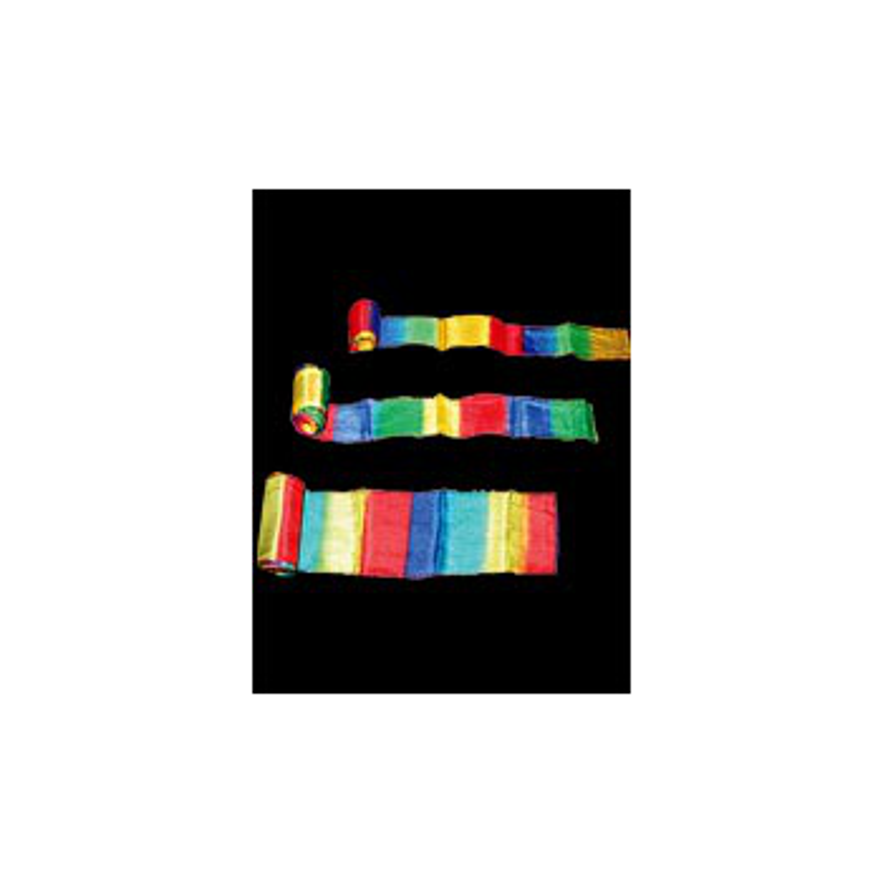 """Streamer multicolor 20 m x 30 cm ( 12""""x 20m)"""