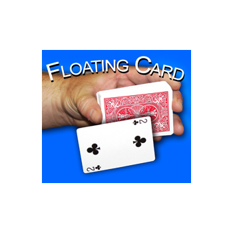 N°10 Floating Card Rouge - hover card