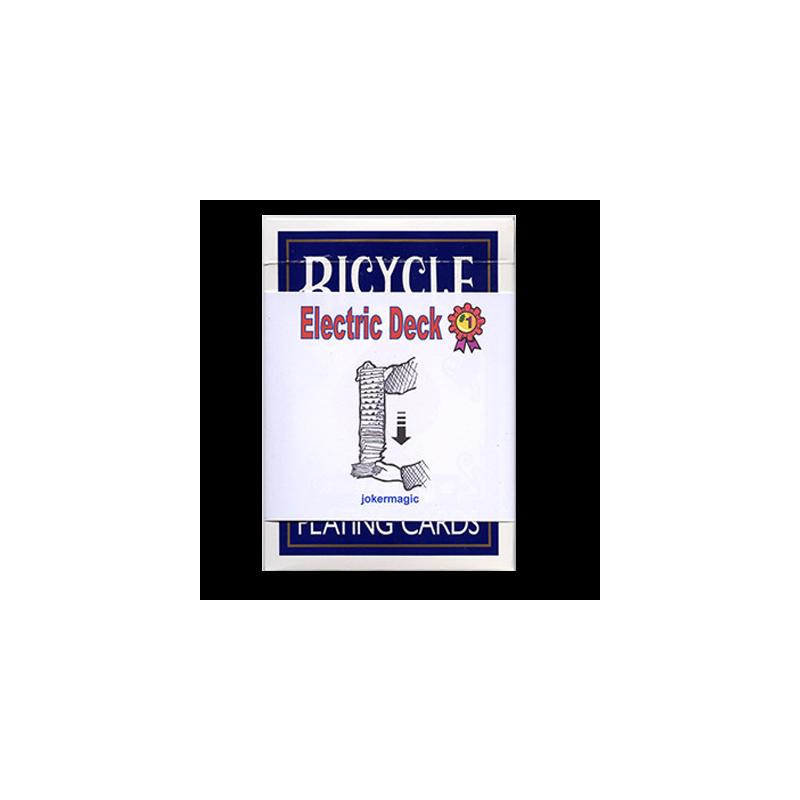 Electric Deck bicycle bleu
