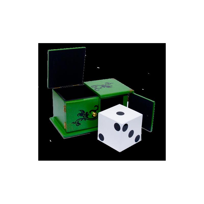 Dé Voyageur ( vert et noir )