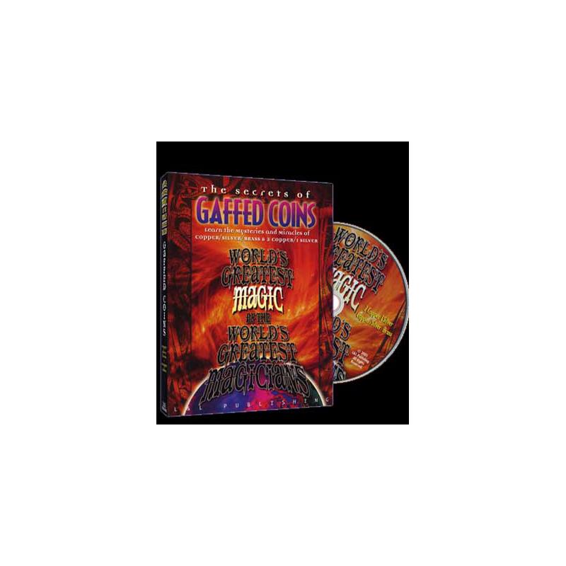 DVD Gaffed Coins ( copper silver ) (World's Greatest Magic)