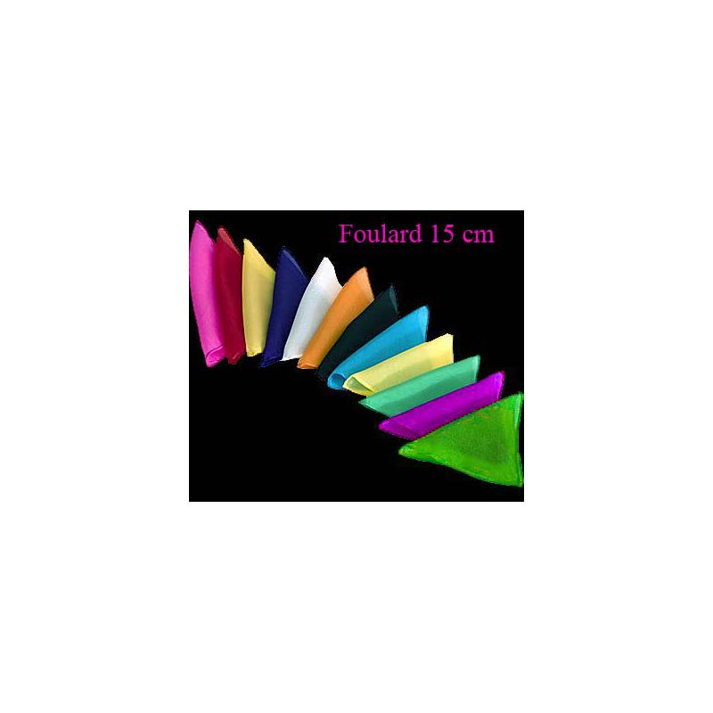 "12 Foulards 15 cm ( 6"" )"