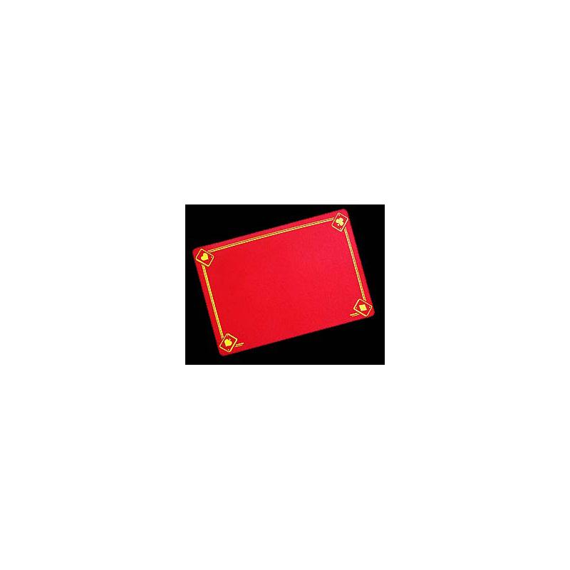 Tapis moyen designe Rouge
