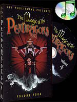 DVD Magic of the Pendragons #4 ( Charlotte et Pendragon )